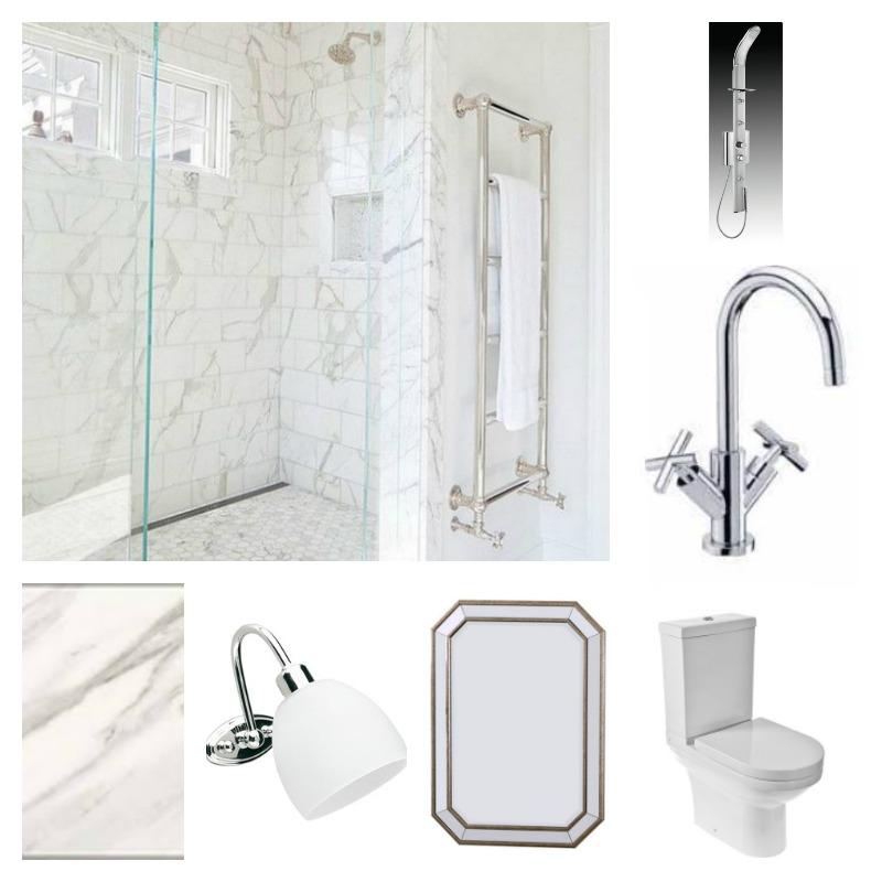Master bathroom accessories