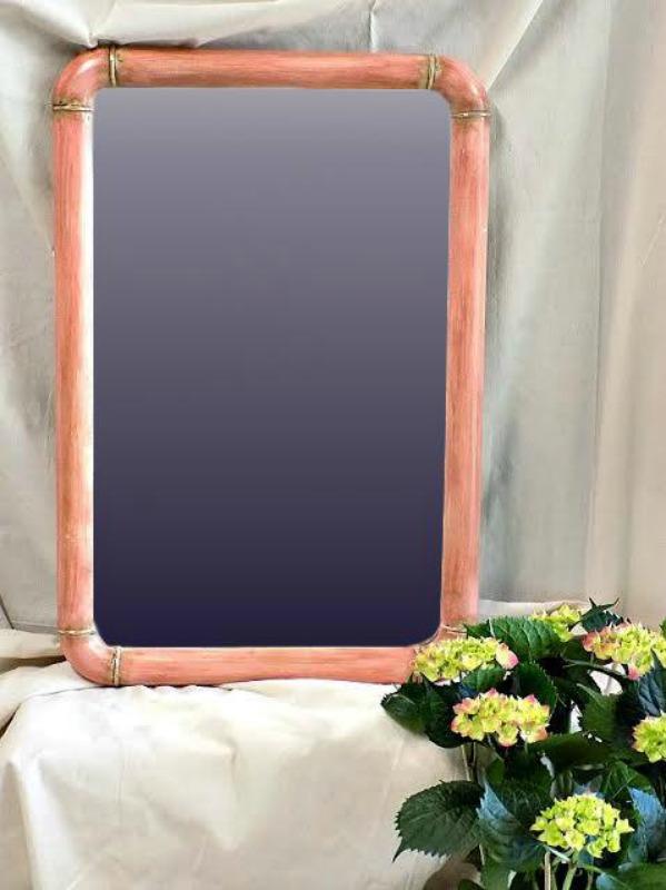 καθρέφτης σε χρώμα scandinavian pink