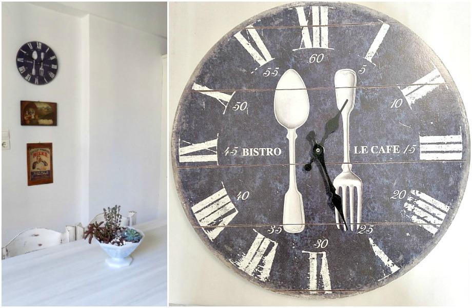 Ρολόι τοίχου όπως ήταν πριν