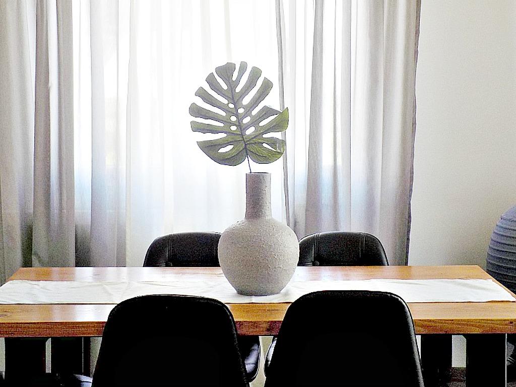 Faux stone vase diy faux monstera