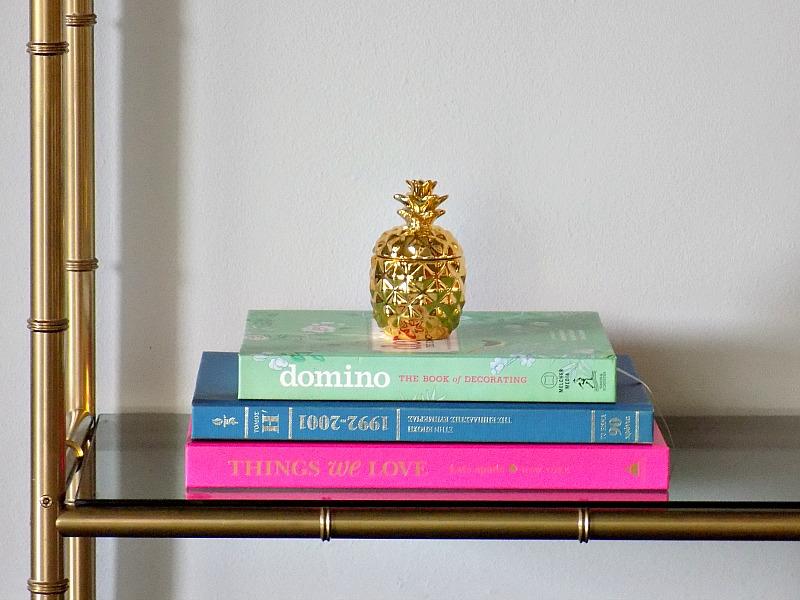Βιβλία διακόσμησης, κερί ανανάς