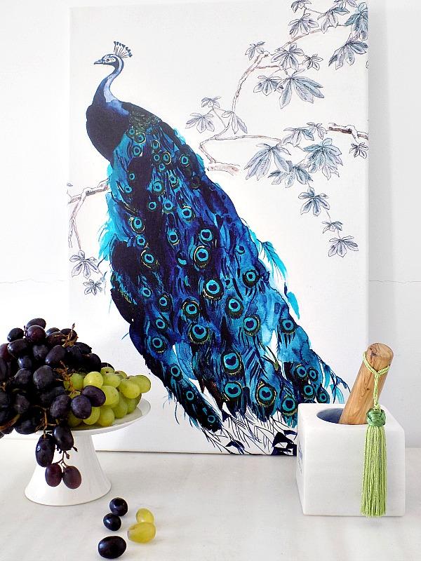 HM Home πετσέτα κουζίνας γίνεται κάδρο για τον τοίχο