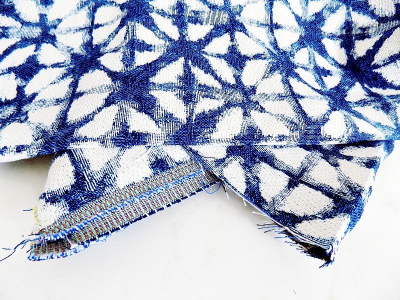 Shibori look fabric