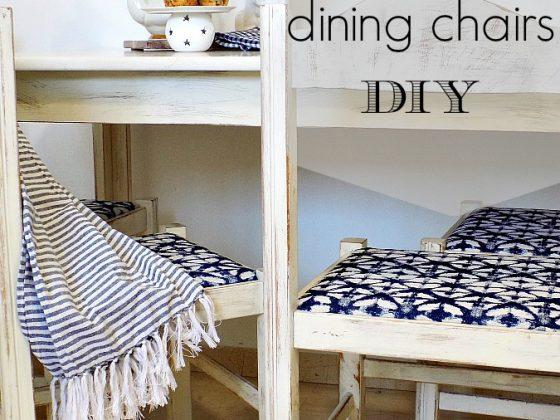 Αλλαγή εμφάνισης σε καρέκλες κουζίνας
