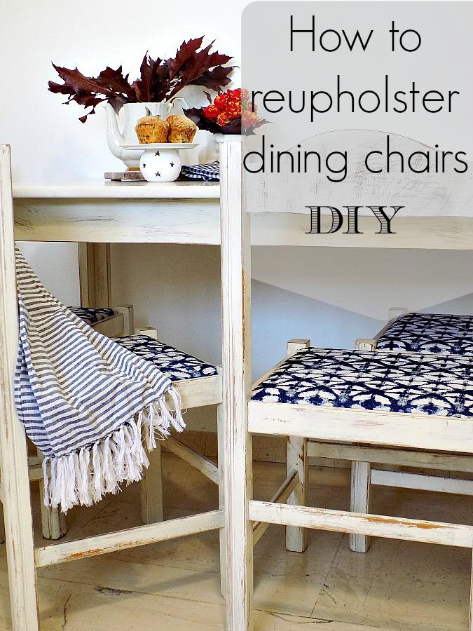 Καρέκλες κουζίνας με νέα εμφάνιση