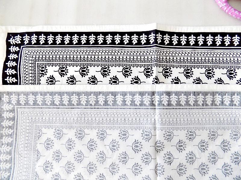 Ηow to make pillow covers from kitchen napkins