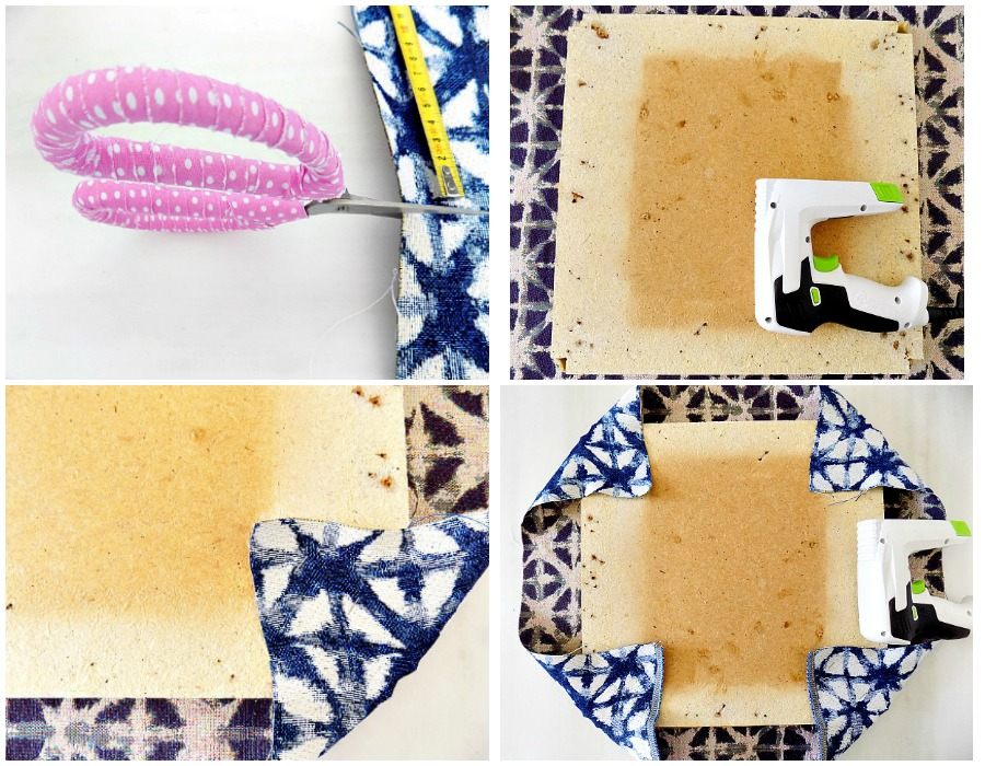 How to upholster a simple seat