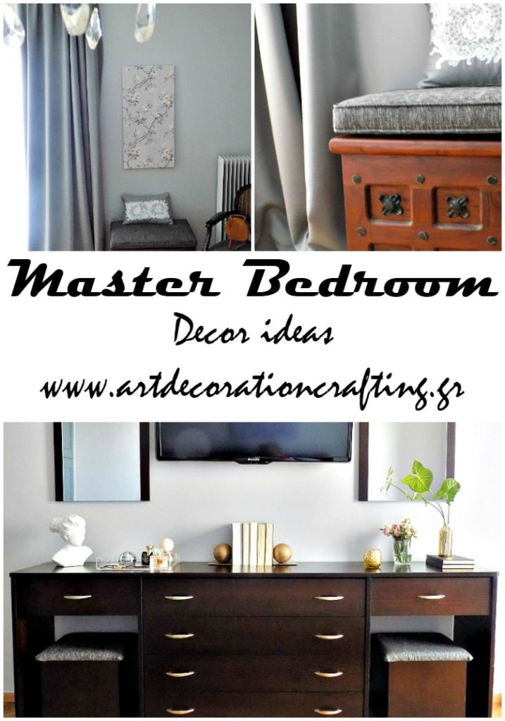 Master bedroom decor ideas hotel look | Λεπτομέρειες στην διακόσμηση κρεβατοκάμαρας