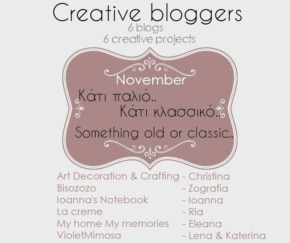 Creative bloggers November 2017
