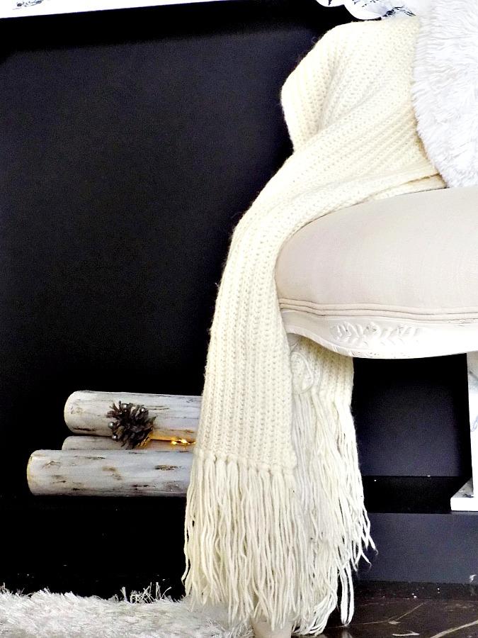 Χειμωνιάτικη διακόσμηση στο σαλόνι μας