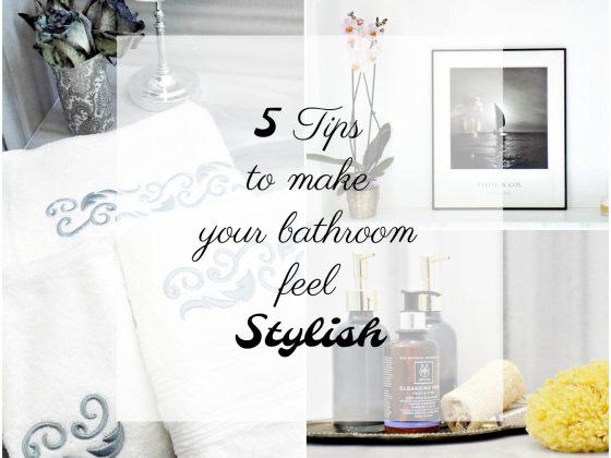 5 κόλπα για να κάνεις το μπάνιο να φαίνεται κομψό
