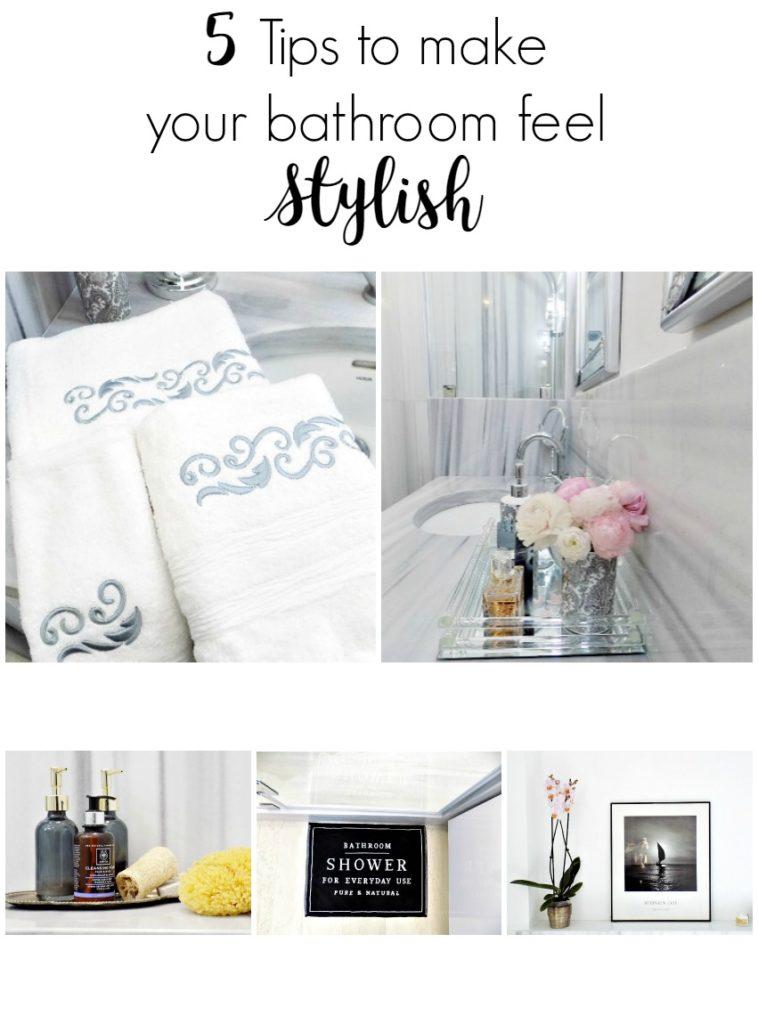 5 κόλπα για το πως να κάνεις το μπάνιο του σπιτιού σου να δείχνει φρέσκο και ανανεωμένο ακόμη κι αν δεν έχεις κάνει καμία ανακαίνιση | 5 tips to make your bathroom feel stylish