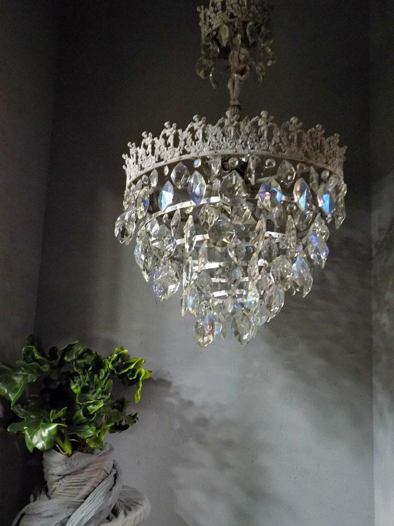 Ανανέωση παλιών πολυελαίων, Antique chandelier makeover