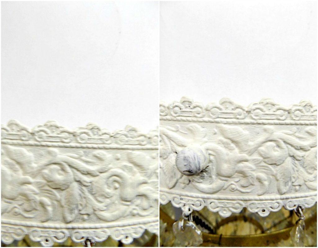 Ανανέωση παλιών πολυελαίων, Original chalk paint
