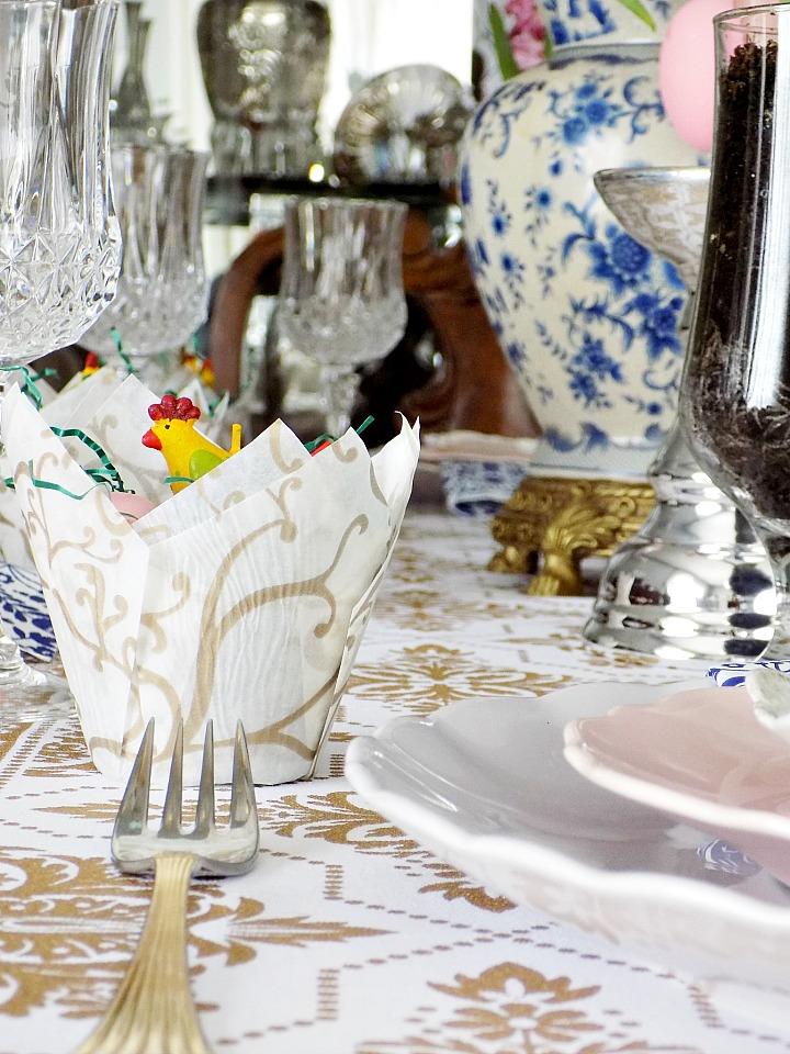 Ιδέες διακόσμησης για το Πασχαλινό τραπέζι μας