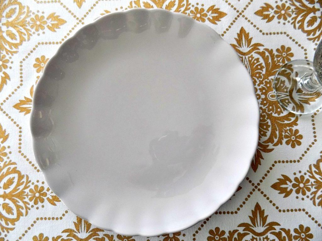 Πιάτο στο χρώμα της λεβάντας
