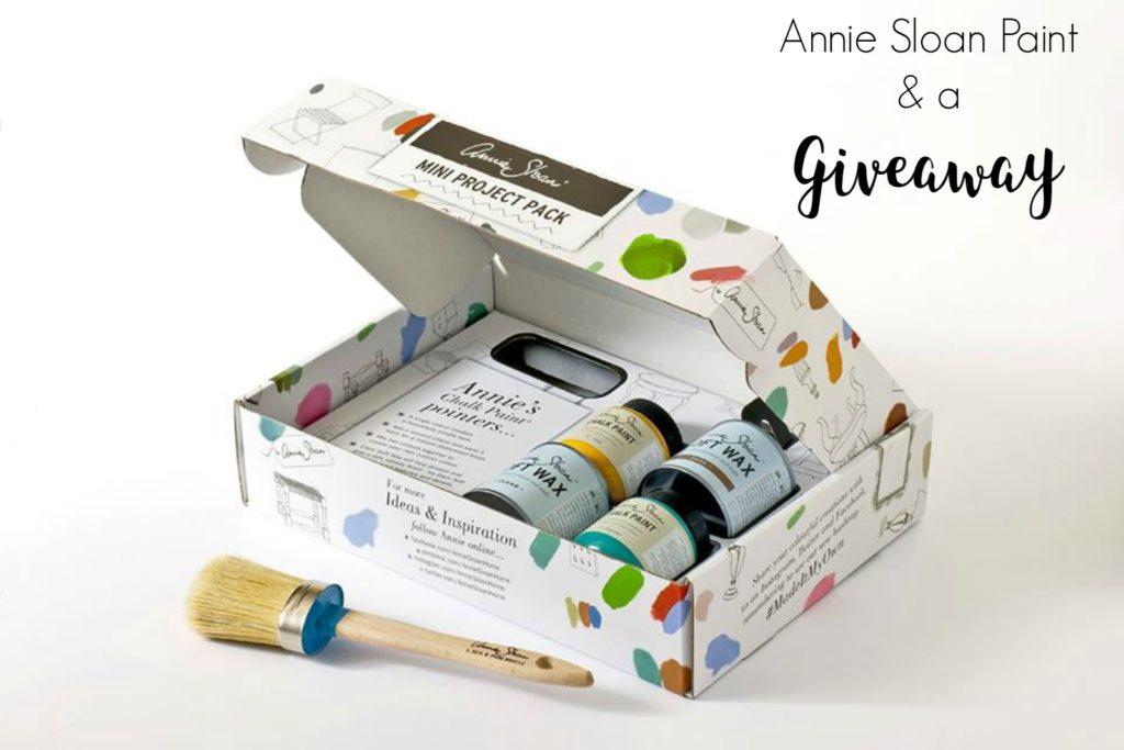 Διαγωνισμός με δώρο μπογιές Annie Sloan