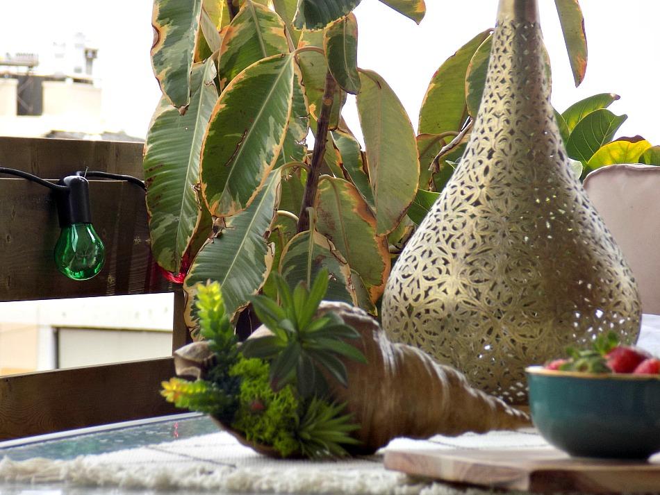 Μπρούτζινο μαροκινό φανάρι