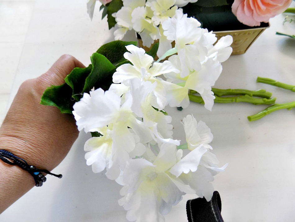 πως να στήσουμε μια σύνθεση λουλουδιών