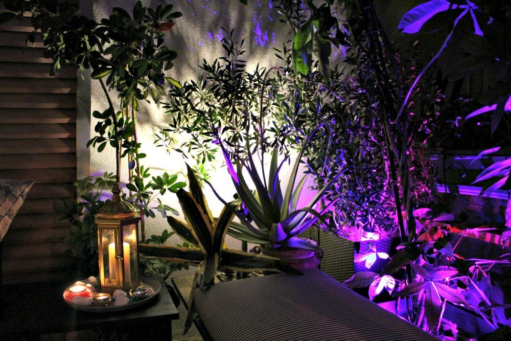 Μαγικές καλοκαιρινές νύχτες στη βεράντα