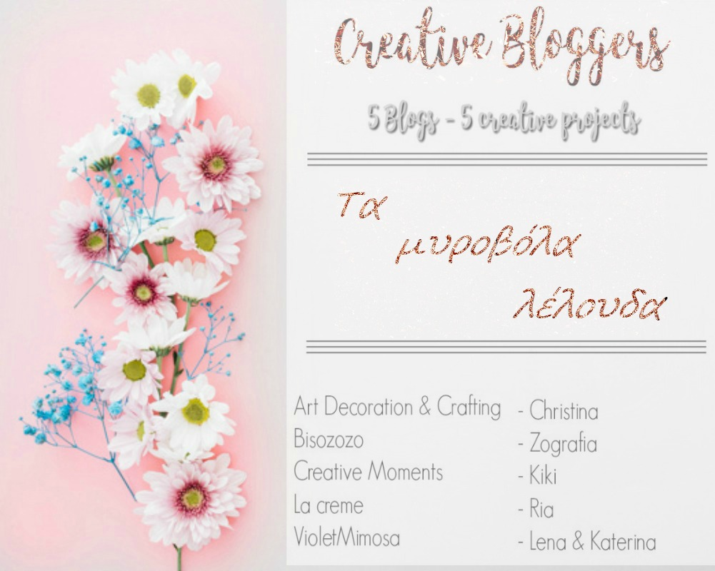 Creative bloggers May 2018