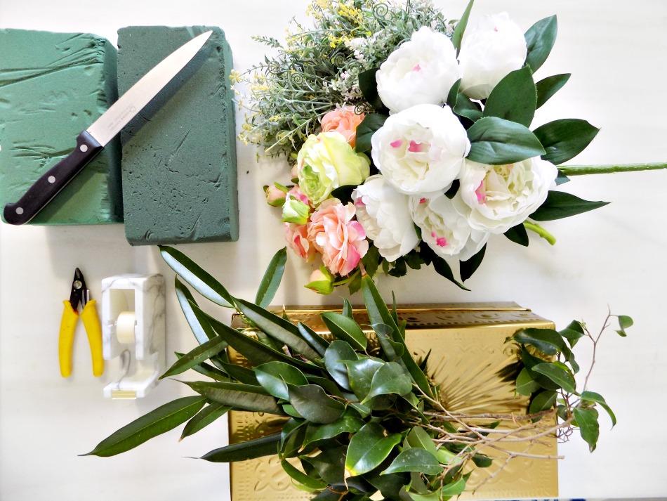 Πως να φτιάξεις μία σύνθεση λουλουδιών εύκολα, γρήγορα, οικονομικά