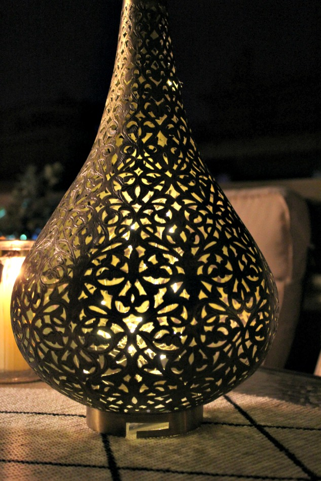 Μαροκινό φανάρι, wire led lights