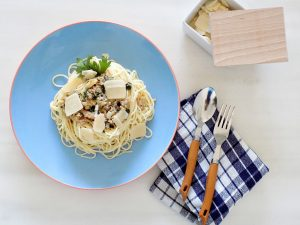 Σπαγγέτι με σάλτσα από καβούρια