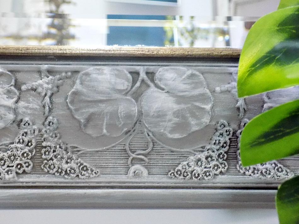 Καθρέφτης εισόδου μεταμόρφωση με μπογιά κιμωλίας