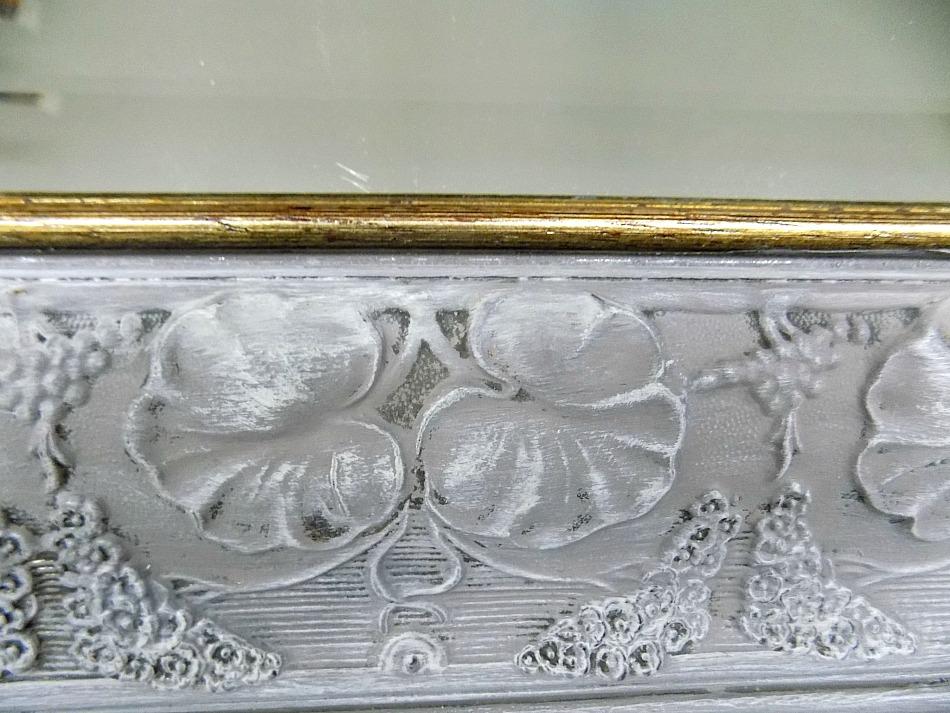 French linen, clear wax Annie Sloan