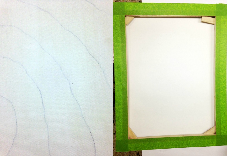 How to prepare a canvas for resin art