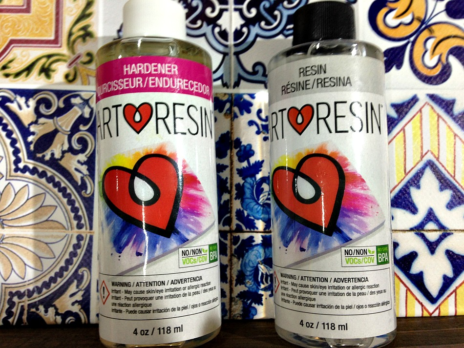 Art resin epoxy resin