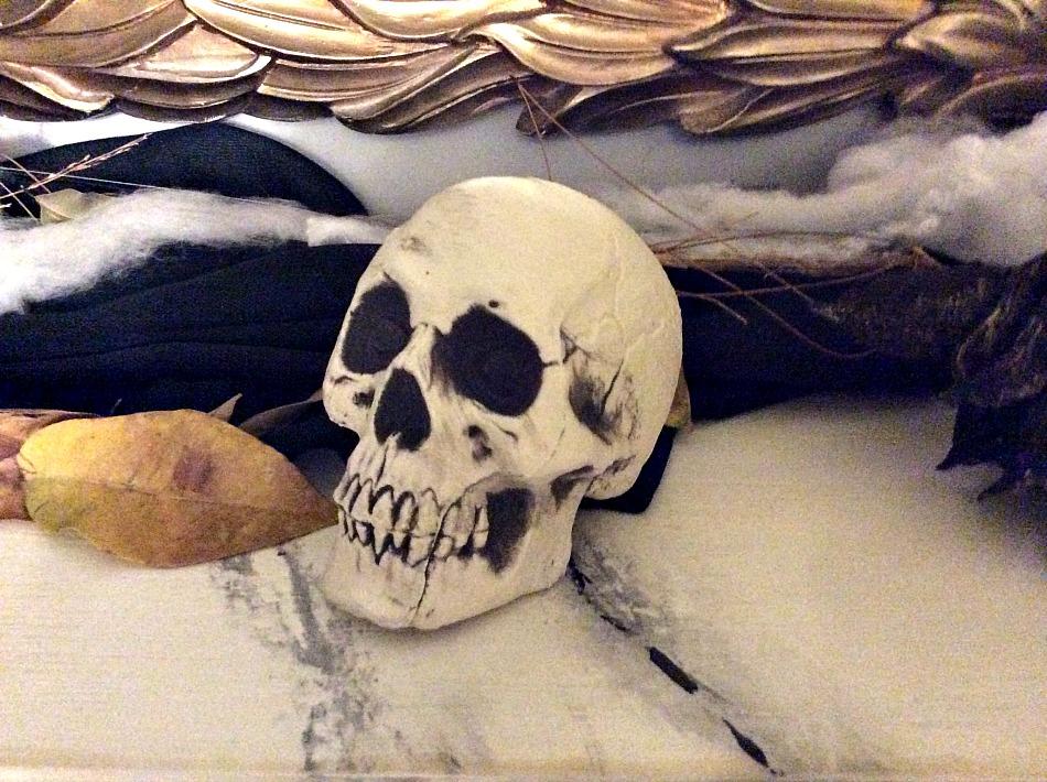Ιδέες διακόσμησης για ένα Halloween πάρτι, Νεκροκεφαλή