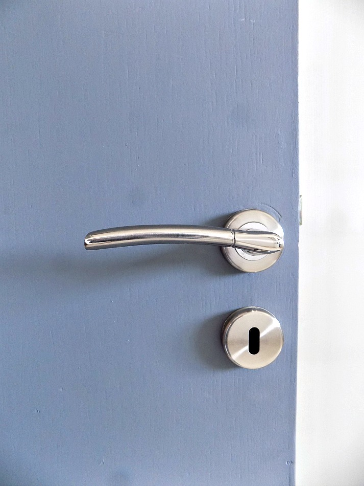 Inox door handle