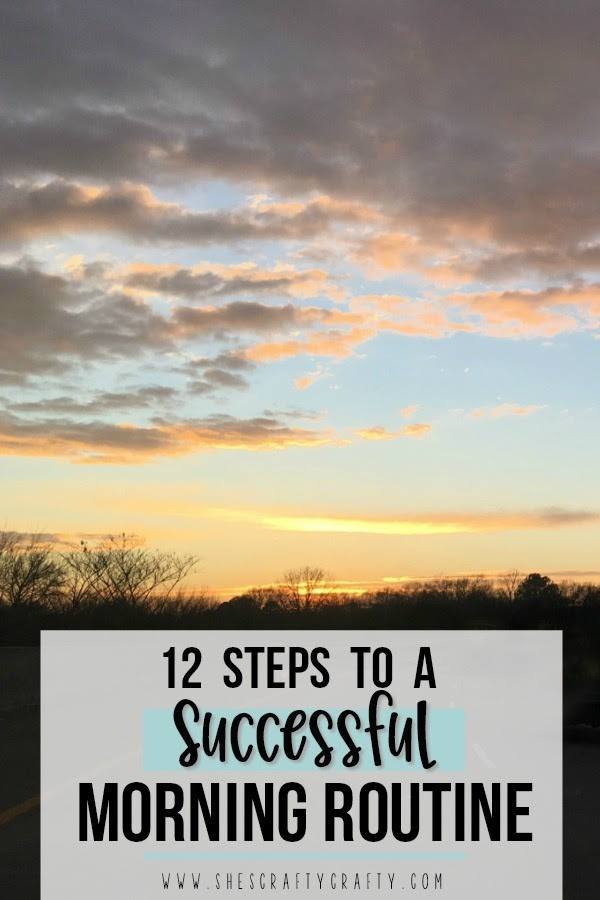 Sweet Inspiration Link Party 140, 12 steps to successful morning routine