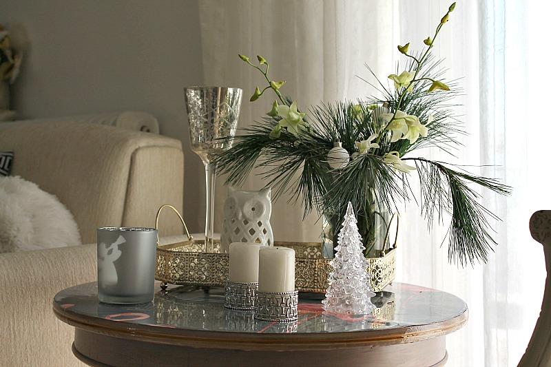 Χριστούγεννα 2015, χριστουγεννιάτικη διακόσμηση σε λευκό, ασημί και χρυσό