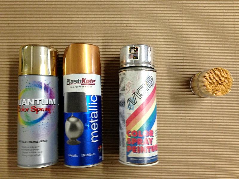Υλικά για τους καθρέφτες στολίδια