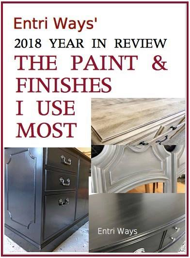 Sweet Inspiration Link Party 140, 2018-year-in-review-part-2-the-paints-finishes-i-use-most