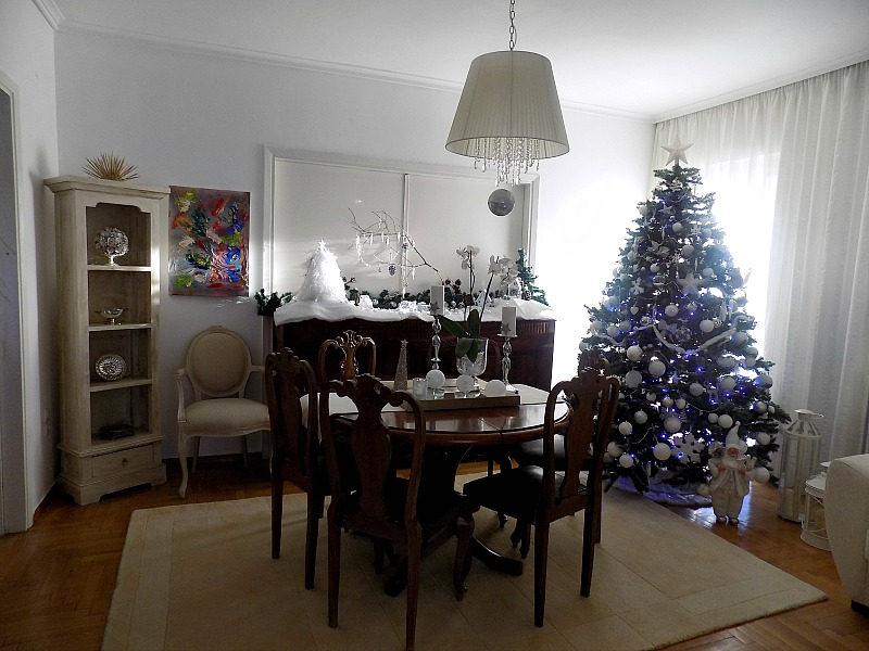Η τραπεζαρία τα Χριστούγεννα 2015