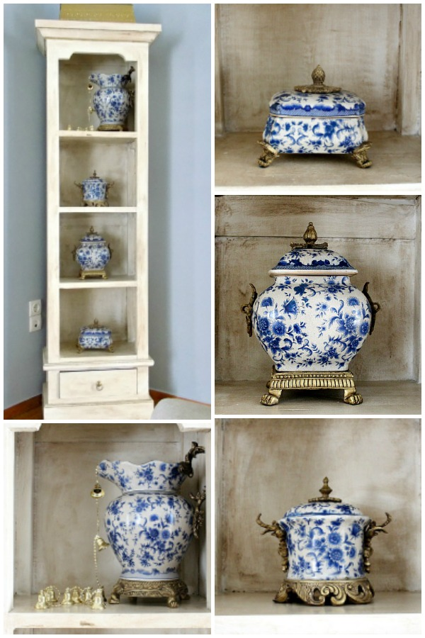 Blue porcelain, chinoiserie porcelain