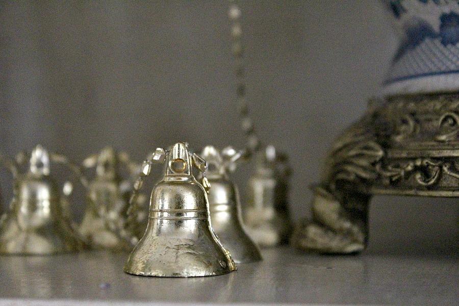 Christmas bell garland
