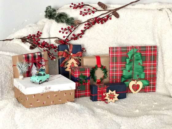 7 Christmas gift wrapping ideas