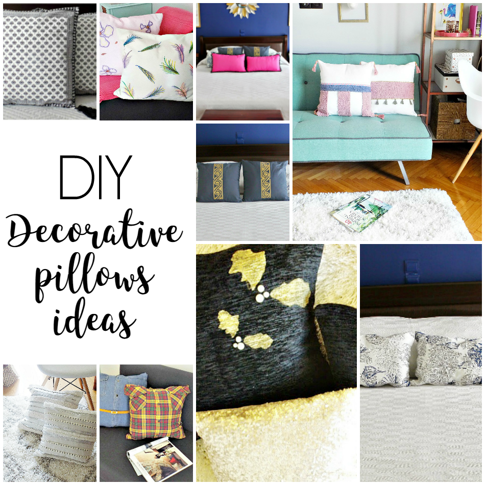 Sweet Inspiration Link Party 140, diy decorative pillow ideas