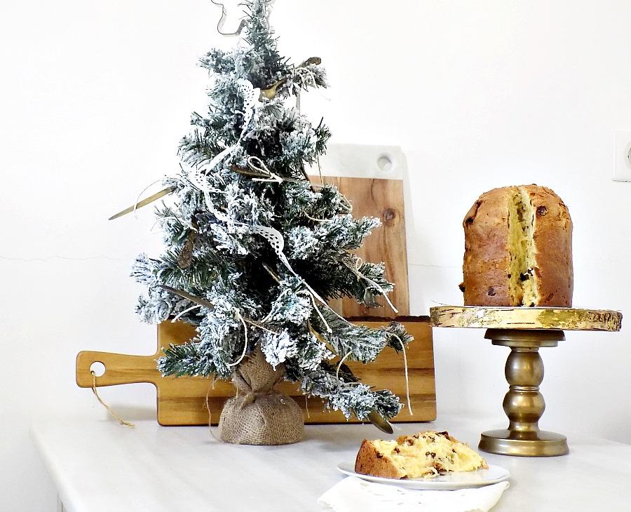 Kitchen vintage christmas tree