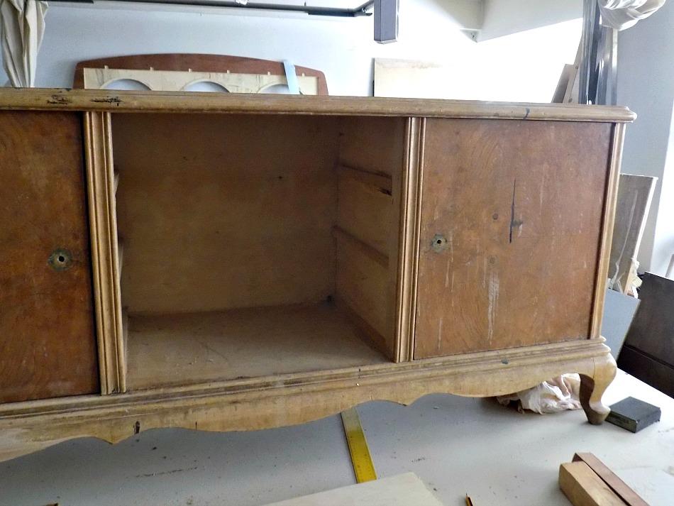 Old vanity dresser