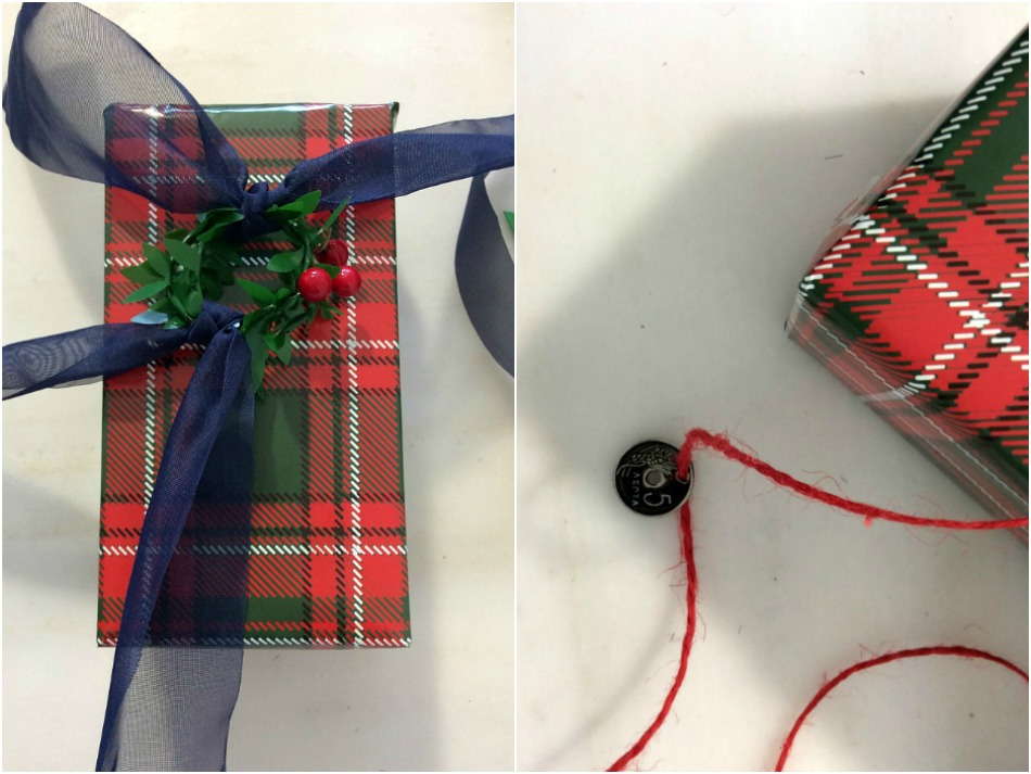 Christmas gift wrapping ideas for small packages