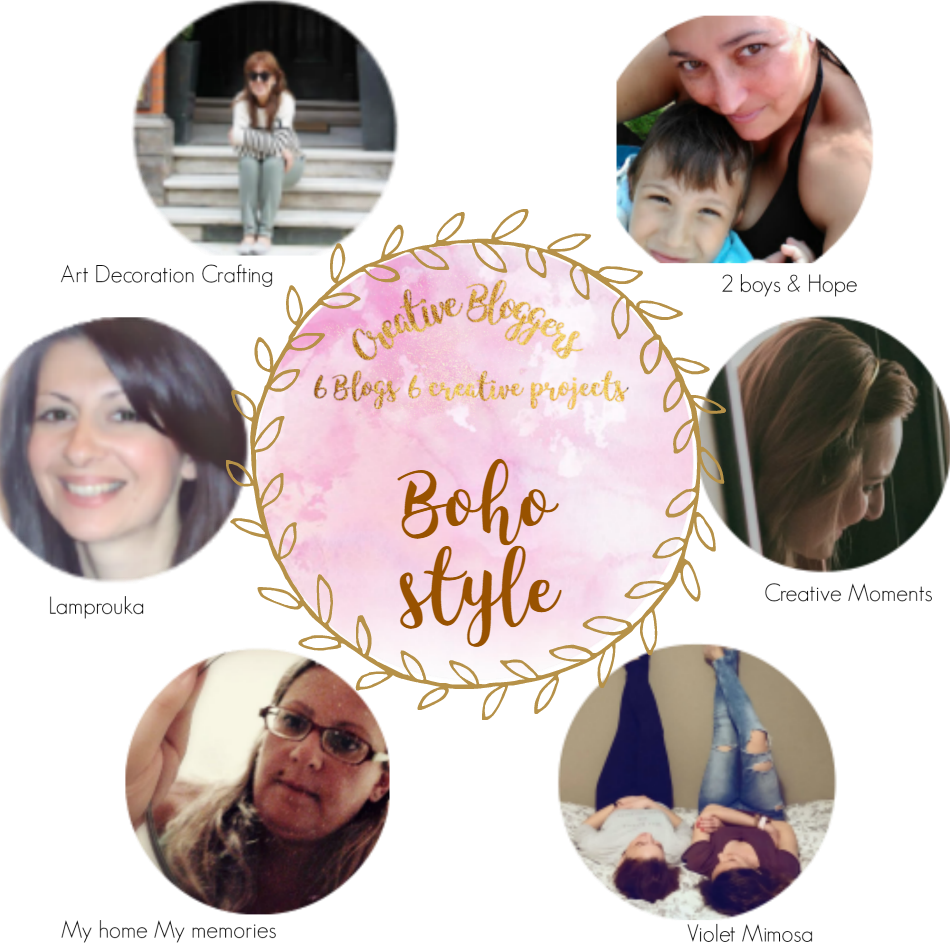 Boho style creative bloggers