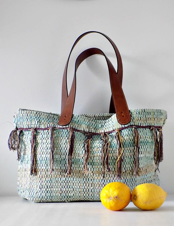 Boho τσάντα από κουρελού, Boho tsanta apo kourelou
