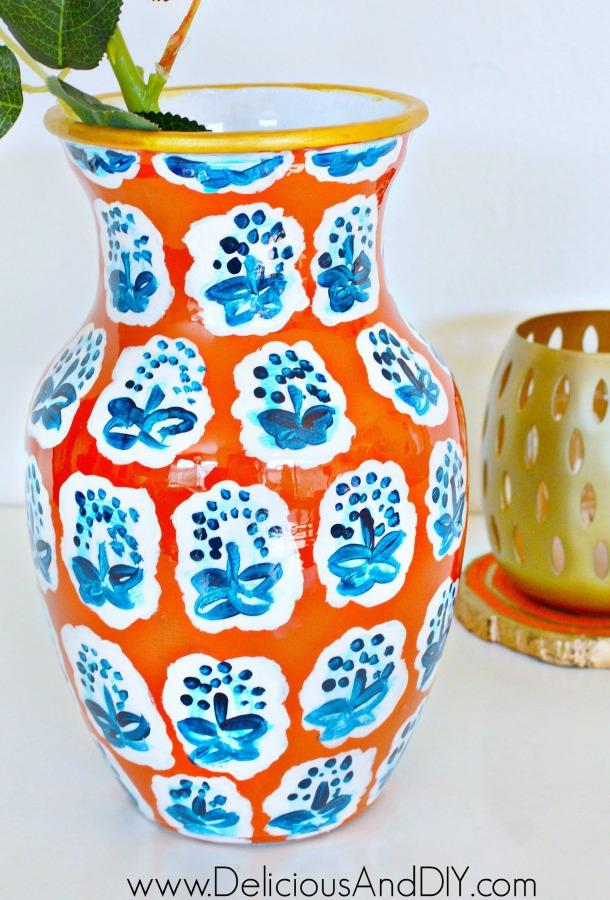 Αγαπημένα ιστολόγια Anthropologie knock off vase