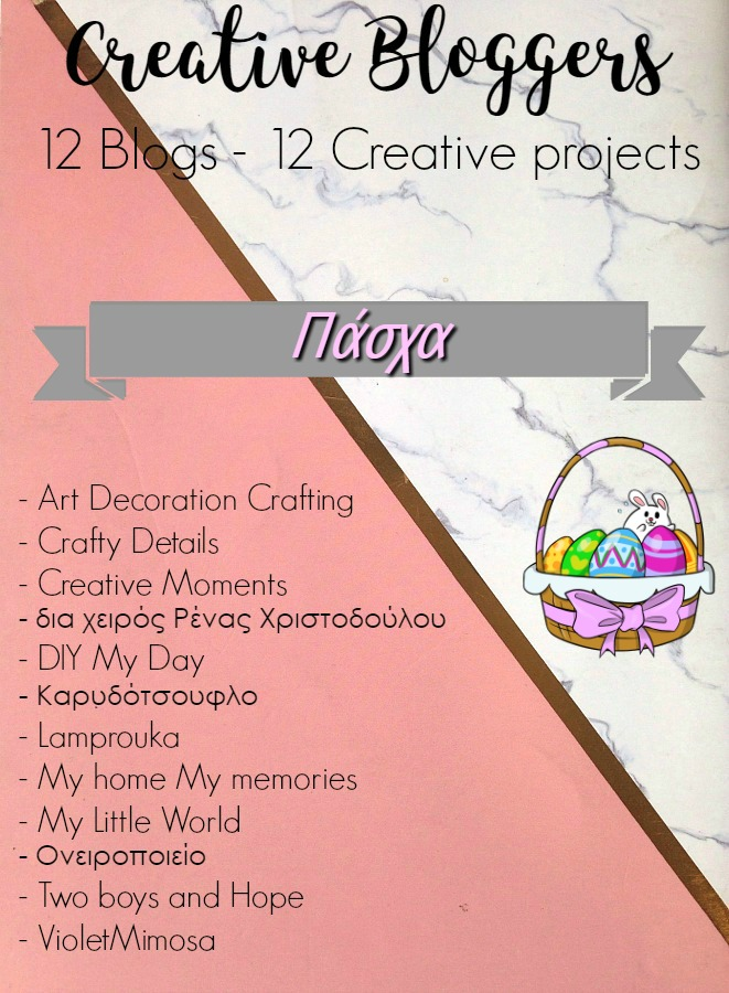Easter crafts banner creative bloggers